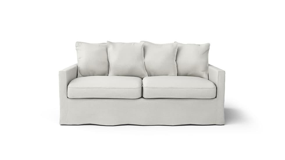 IKEA Harnosand Sofa Covers Liege Eggshell Linen Blends Couch Slipcover
