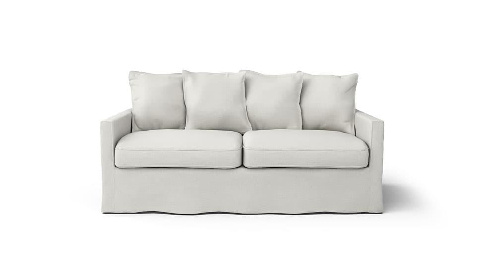 IKEA Harnosand Sofabezug Liege Eggshell Leinenmischung