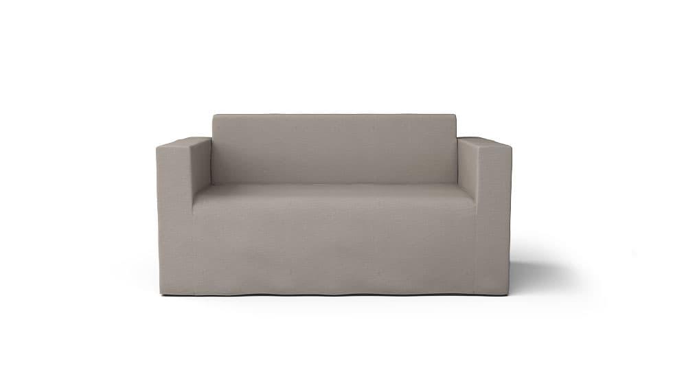 IKEA Klobo Sofabezug Lino Brushed Leinenmischung