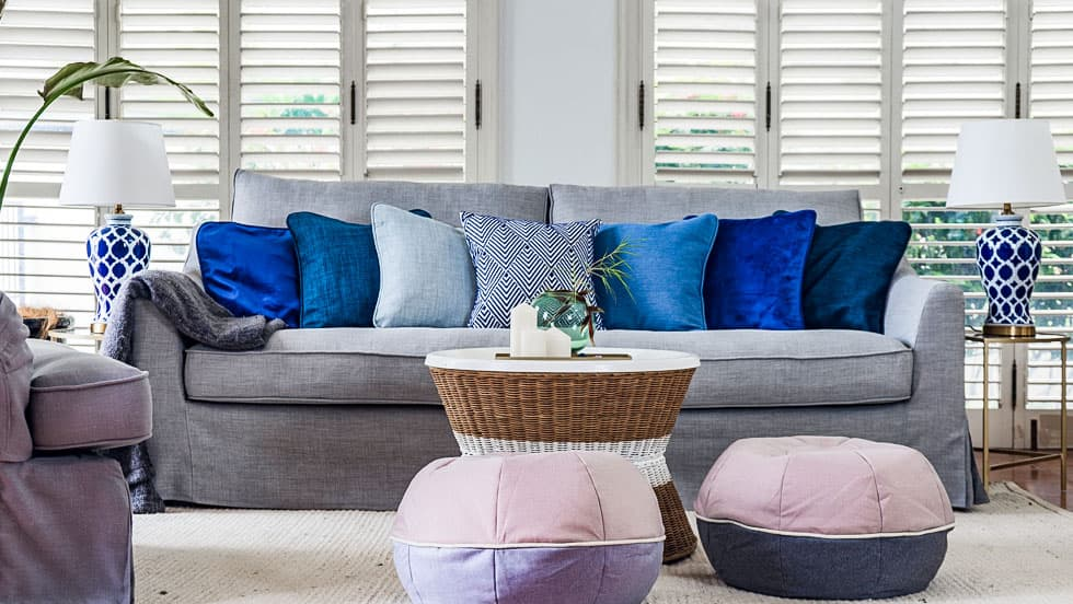 IKEA Sofa Covers Farlov 3 Seater Kino Ash Heavy Duty Couch Slipcover