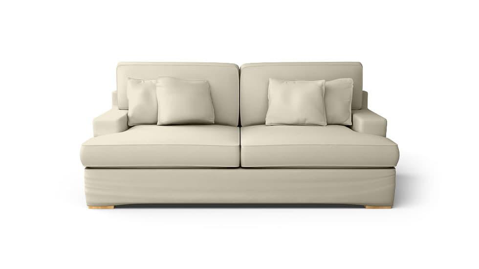 IKEA Goteborg Sofabezug aus Gaia Sand Baumwolle