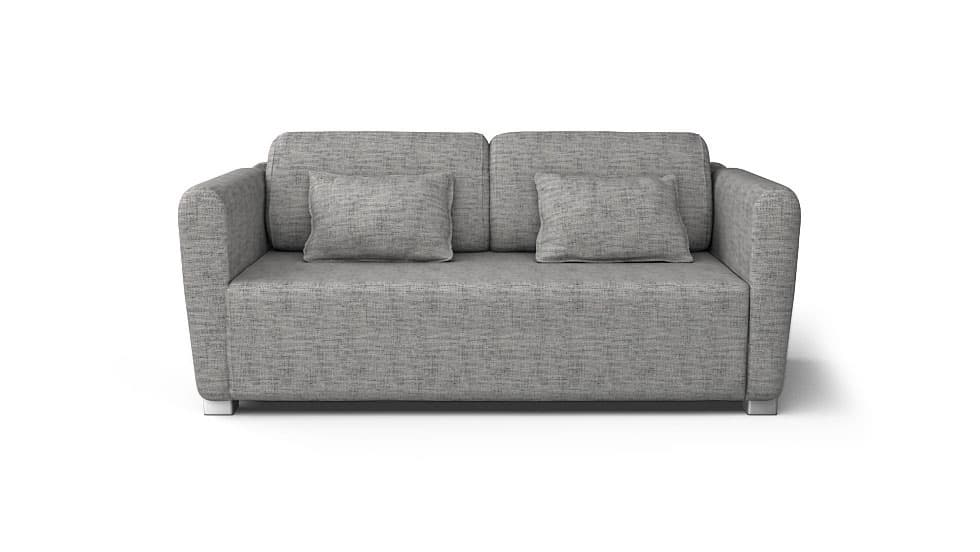 IKEA Mysinge Sofa Covers Nomad Grey Cotton Blends Couch Slipcover