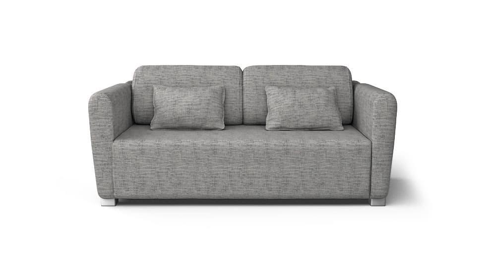 IKEA Mysinge Sofabezug Nomad Grey Baumwollmischung