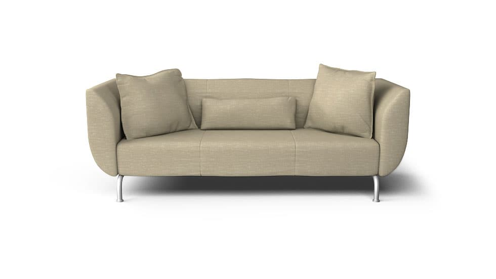 IKEA Stromstad Sofa Covers Nomad Sand Cotton Blends Couch Slipcover