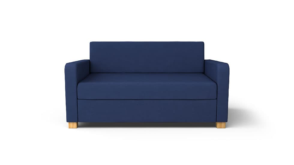 IKEA Solsta Sofa Covers Gaia Navy Panama Cotton Couch Slipcover