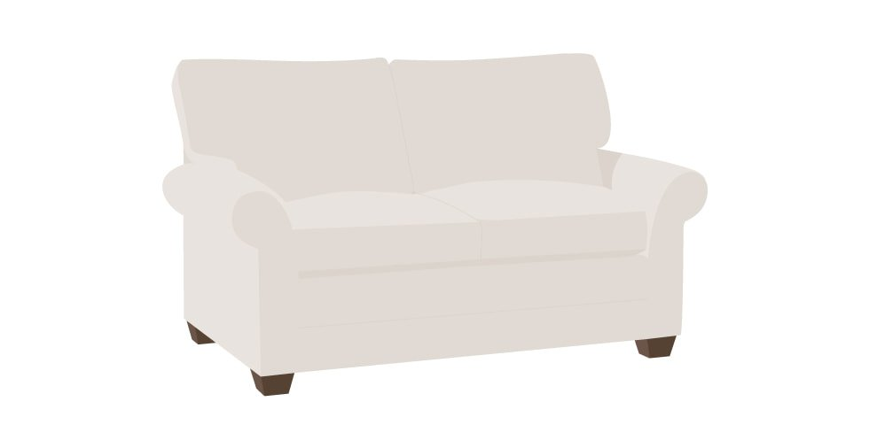 Replacement Slipcovers For Ethan Allen Bennett Roll Arm Sofa Comfort Works