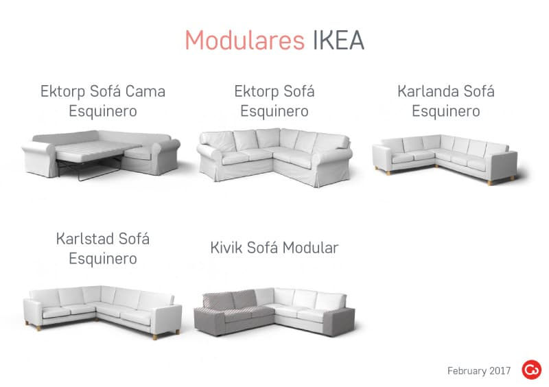 Sofás Modulares IKEA Descatalogados