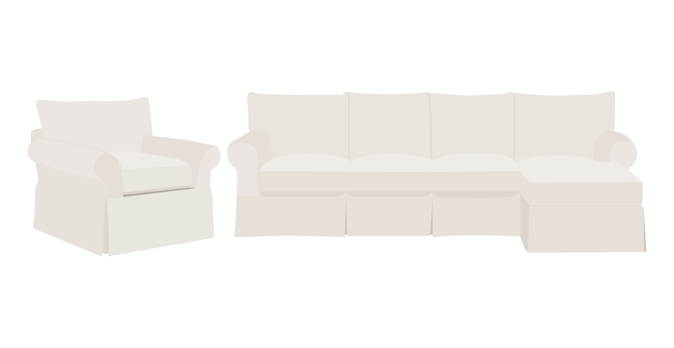 Birch Lane Jameson Sofa Slipcover