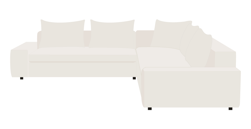 CB2 Arlo Sofa Slipcovers