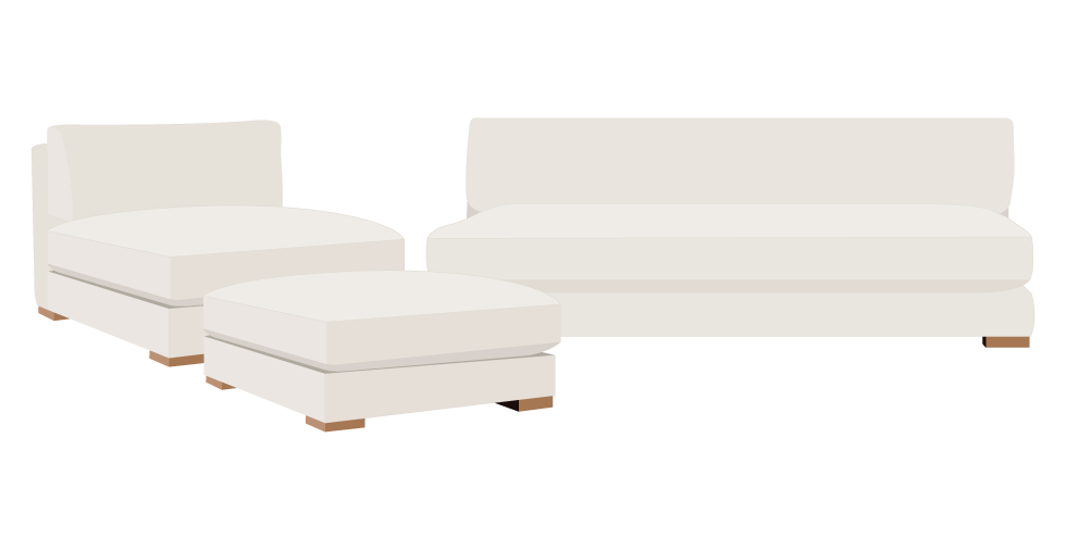 CB2 Piazza Sofa Slipcovers