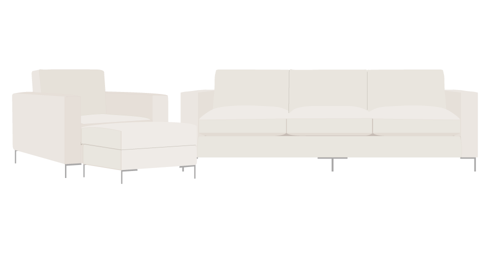 EcoBalanza Square Sofa Slipcovers