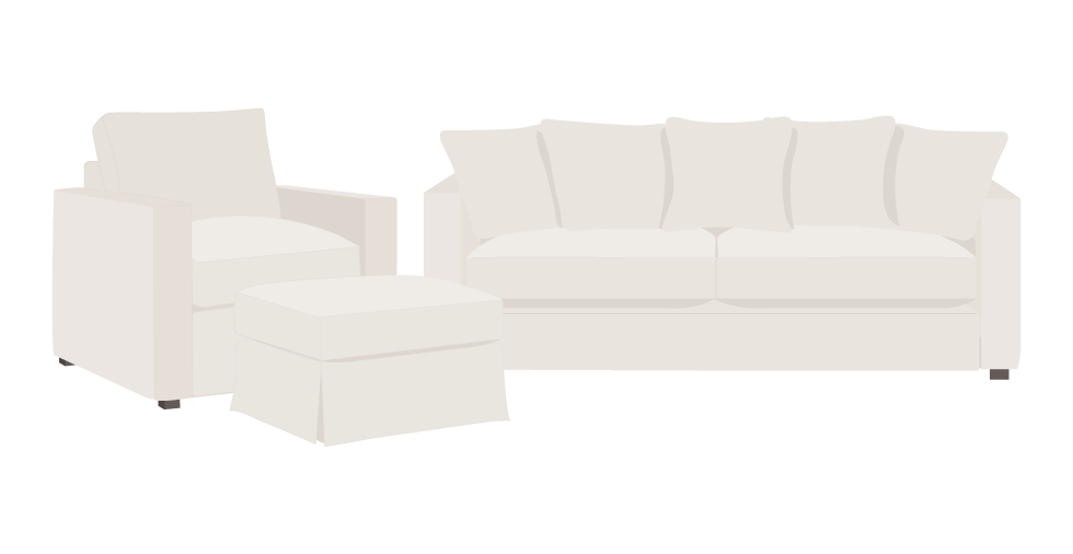 Freedom Brighton Square Slipcovers
