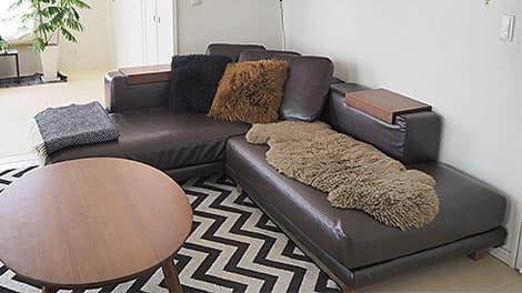 Kundenbewertung Leder Sofabezug - Mizue Yamato