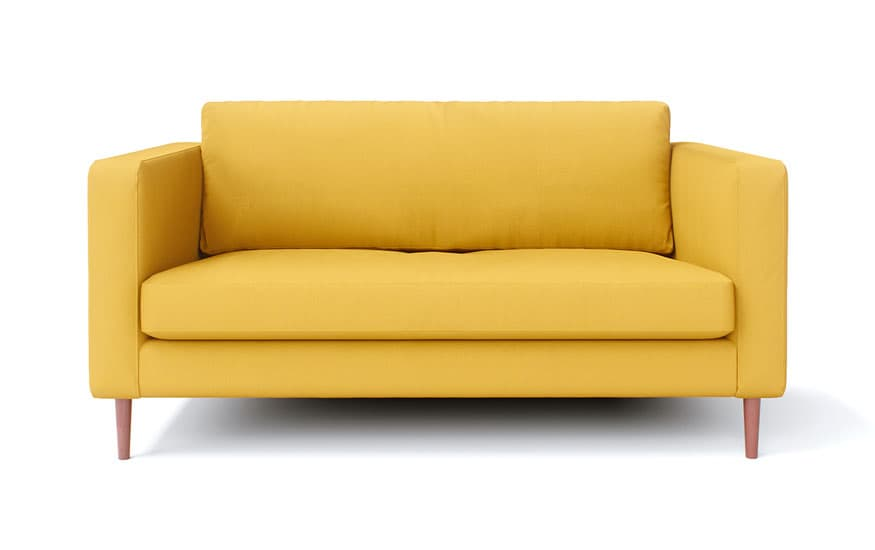 IKEA Karlstad 2 Seater in Shire Mustard