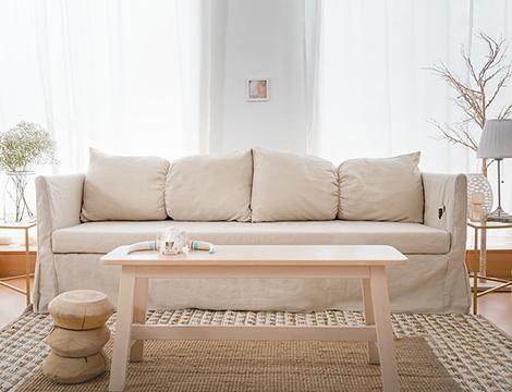 leinen sofabezüge neutrale farben