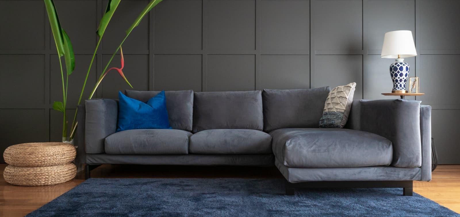 Velvet Sofa Covers Performance
