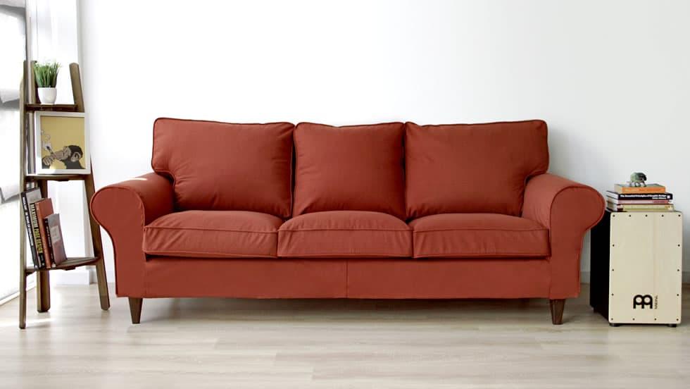 IKEA Ektorp en Shire Rust de Comfort Works