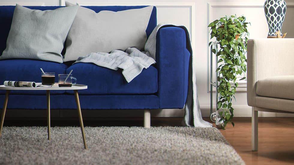 Ikea Norsborg Bezug mit Sofafuß Stella