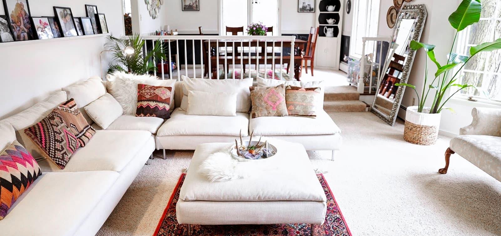 Changer La Couleur D Un Canapé En Cuir housse sur mesure pour canapé habitat | comfort works