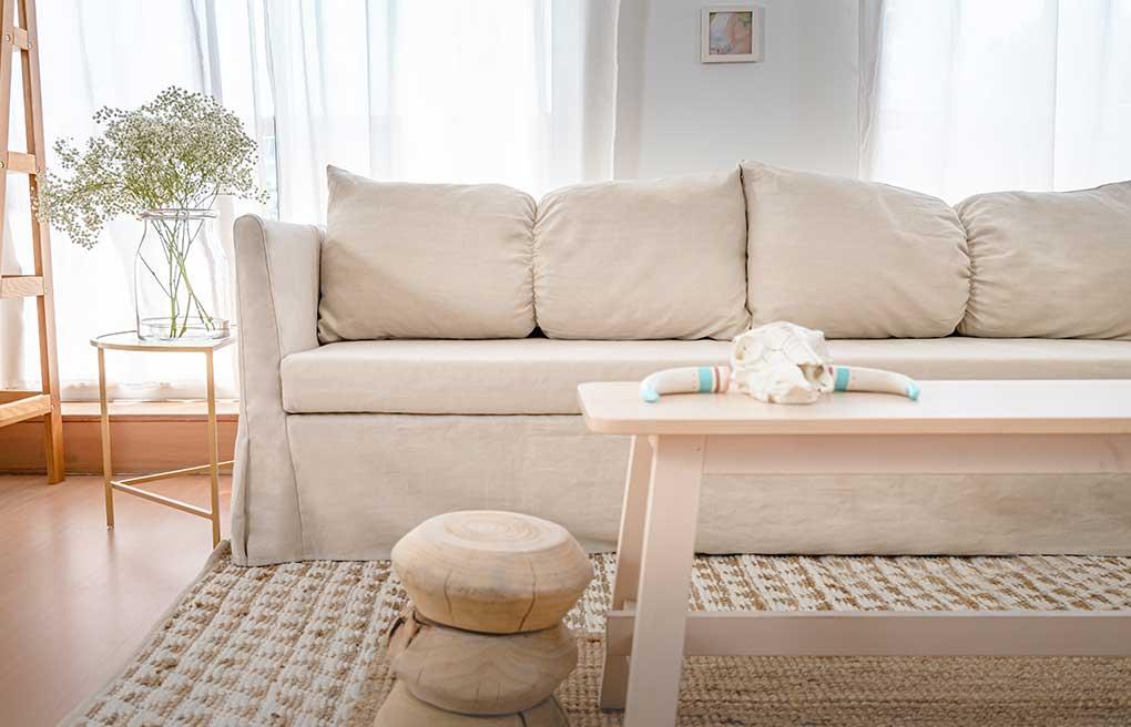 Comfort Works IKEA Sandbacken Pure Linen Unbleached