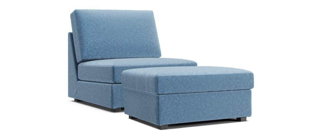 Comfort Works IKEA Kivik Claw-proof Velvet Light Blue