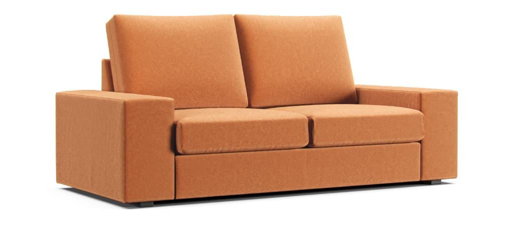 Comfort Works IKEA Kivik Claw-proof Velvet Orange
