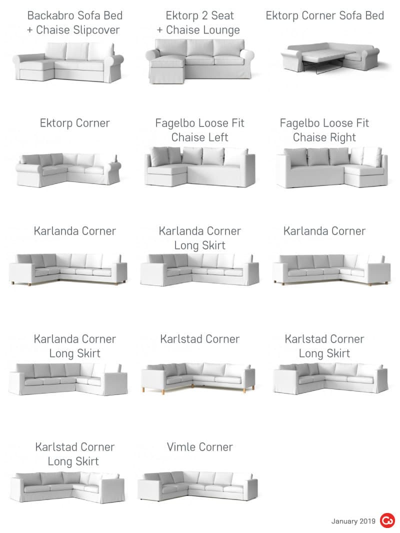 IKEA Discontinued Sectionals