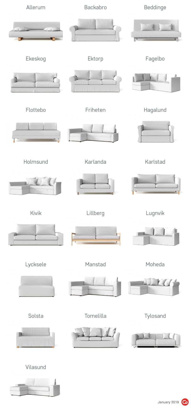 IKEA Discontinued Sofa Beds