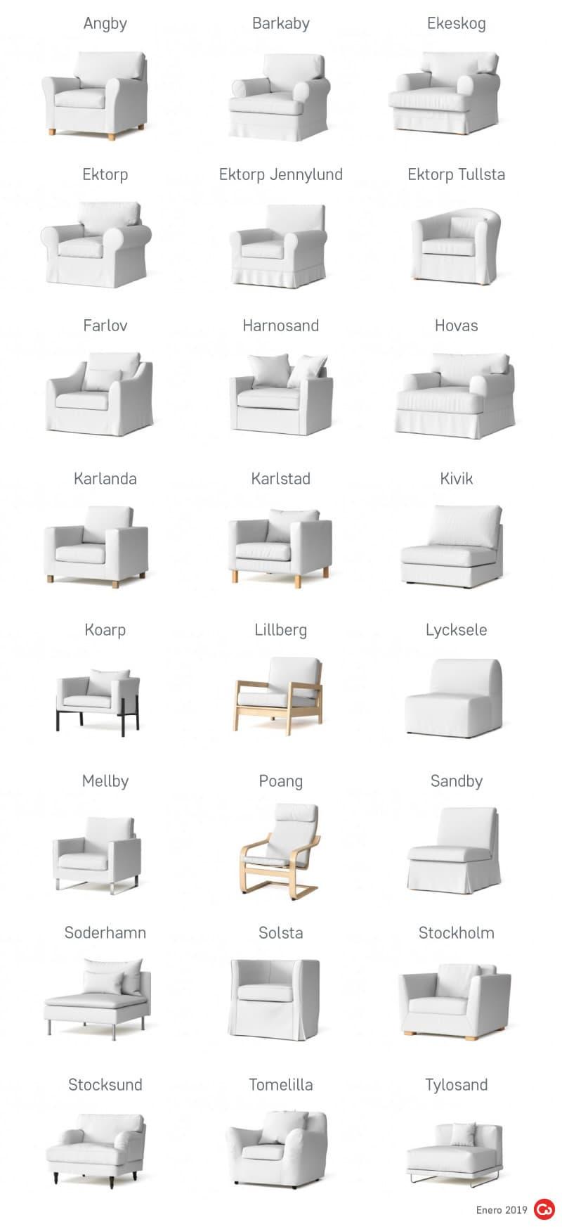 Sillones Descatalogados de IKEA