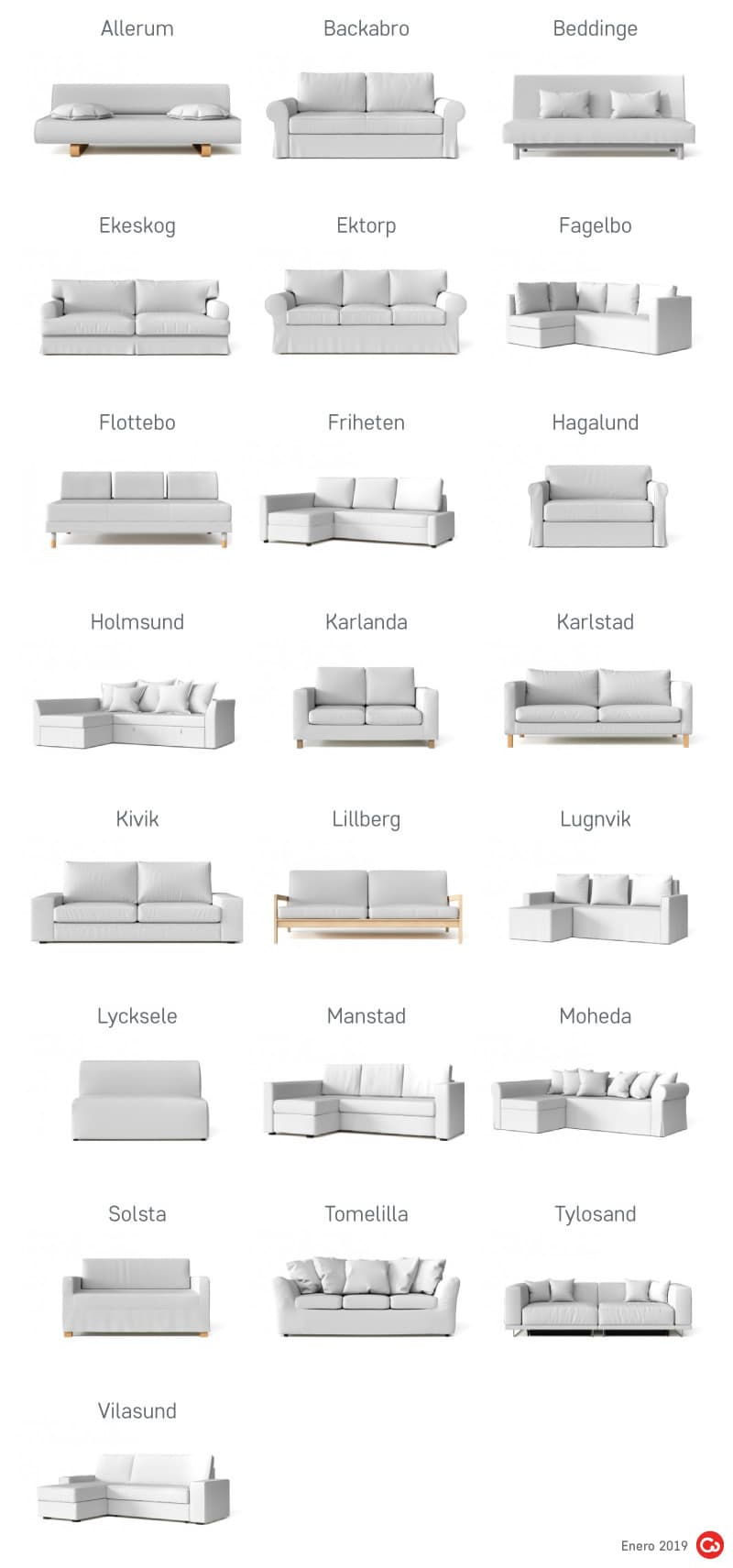 Sofás Cama Descatalogados de IKEA