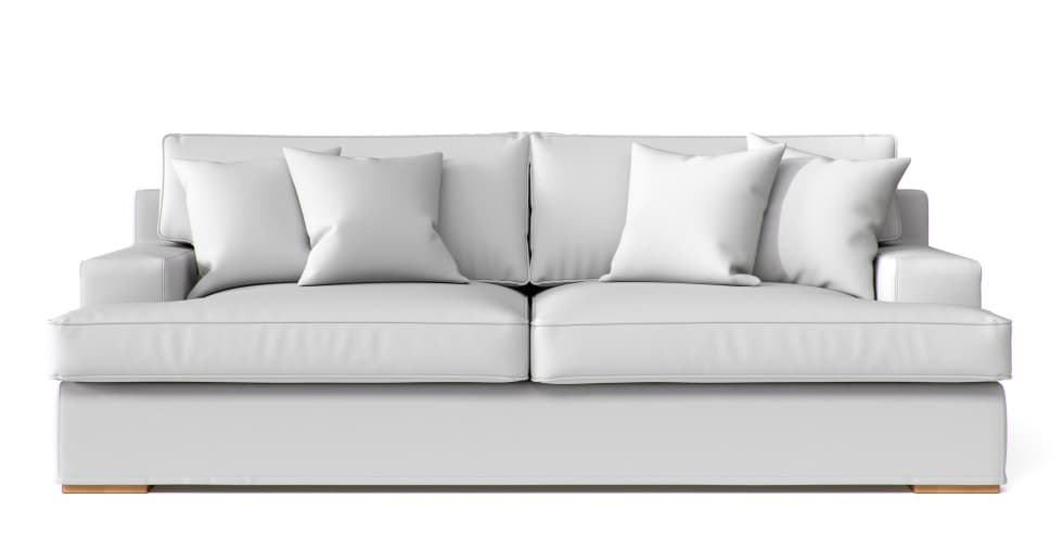 Restoration Hardware Sofa Covers in White Cotton