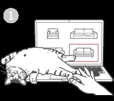 Finde dein Sofa Modell und suche den passenden Bezug dafür im Comfort Works Webshop aus.