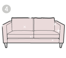 STEP 4: Re'dis'Cover your sofa