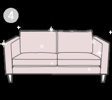 Verleihe deinem alten Sofa ein Makeover mit wunderschönen, handgefertigten Comfort Works Bezügen