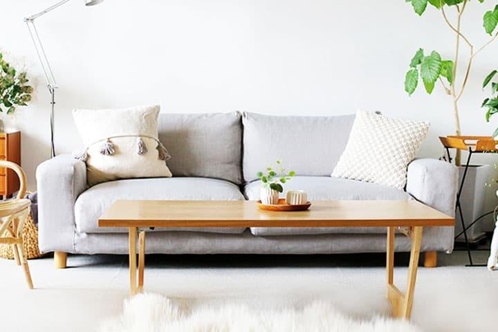 Custom Slipcovers And Ikea Sofa Covers, Light Grey Sofa Slipcover