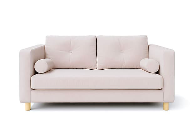 Rouge Blush Snug Fit Tufted Cushions Combined Seat Cushions