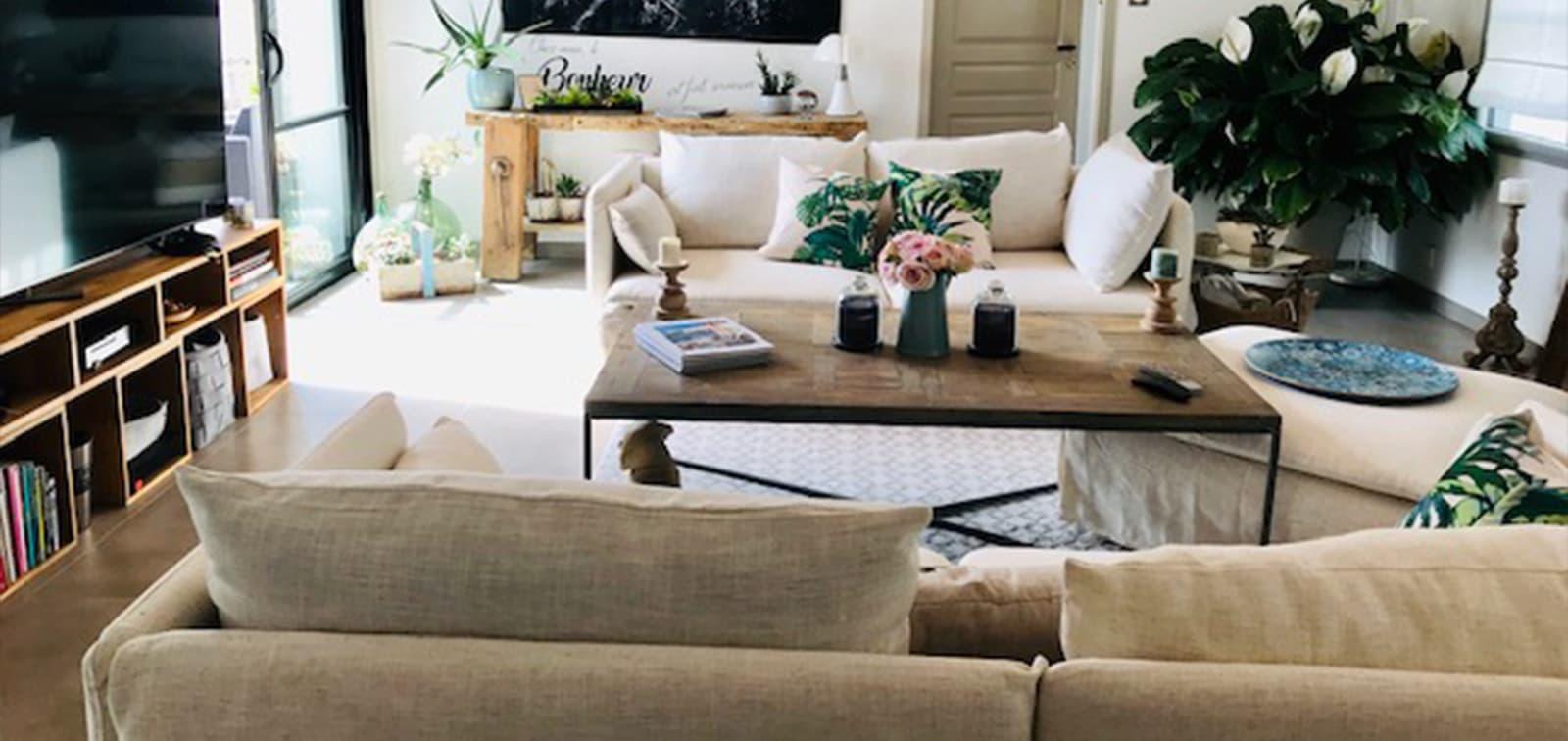 Housse canapé Maisons du monde