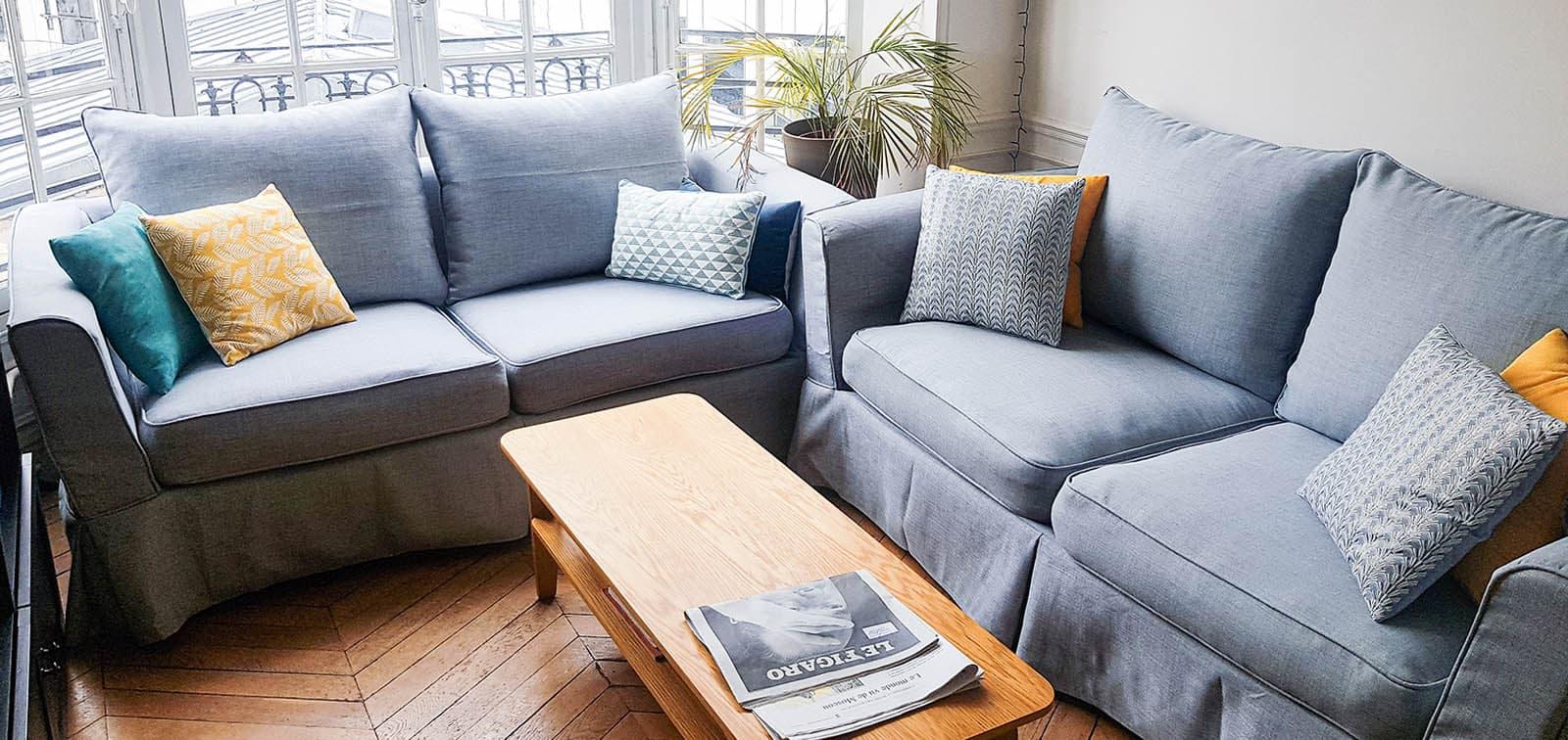 Housse De Canape Pour Mobil Home housse de canapé maisons du monde   comfort works