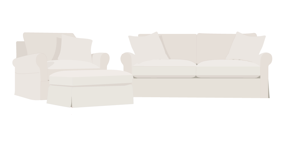 Rowe Aberdeen Replacement Sofa Cover