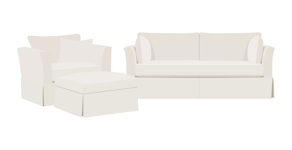Rowe Darby Replacement Sofa Cover