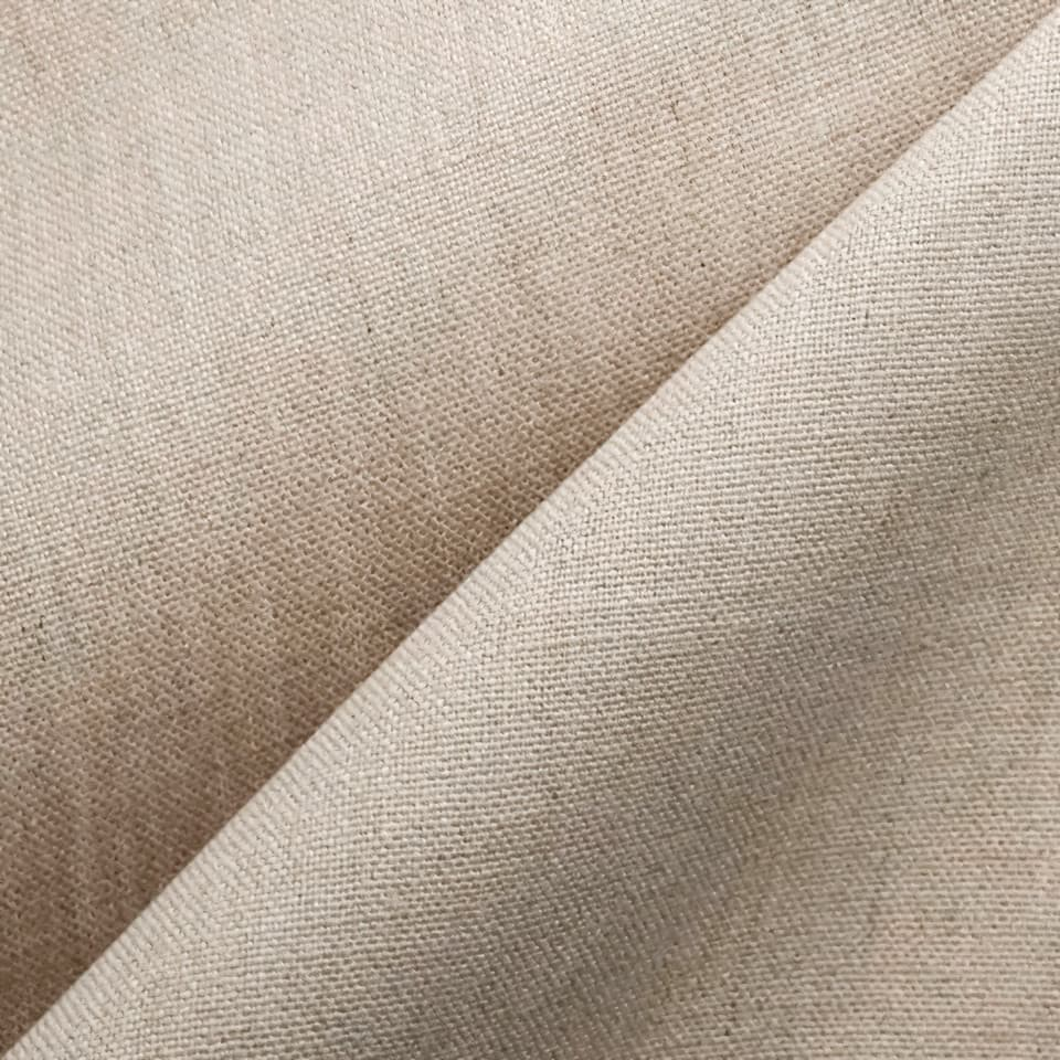 swatch of a pure linen fabric sample