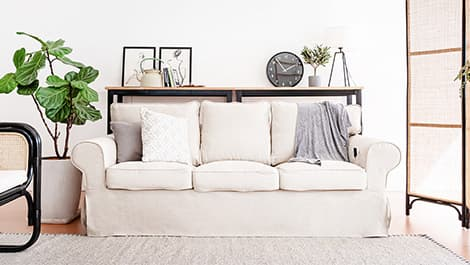 Pure Linen Sofa cover by Comfort Works