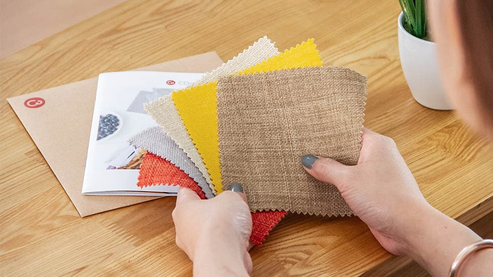 Choosing Fabrics for Sofa Slipcovers couch slipcovers by Comfort Works