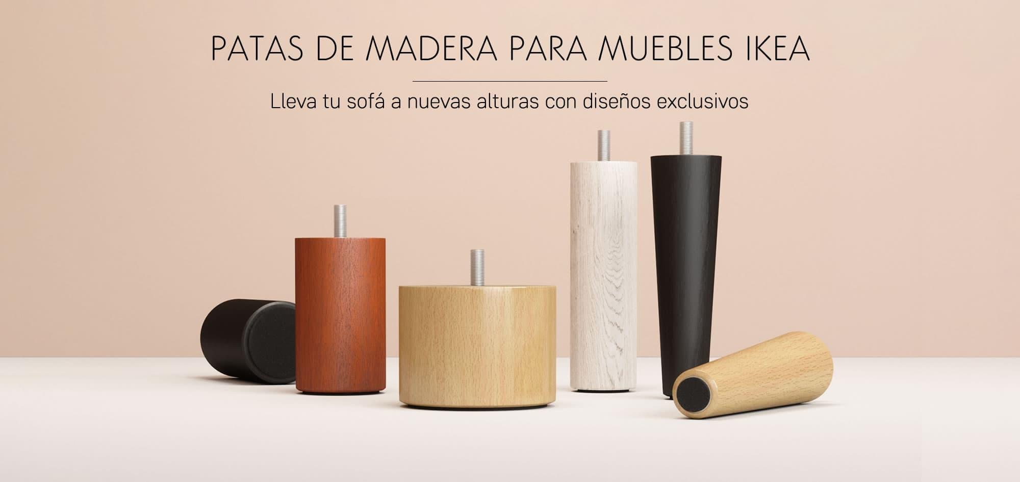 Patas de Madera para Sofás y Sillones de IKEA