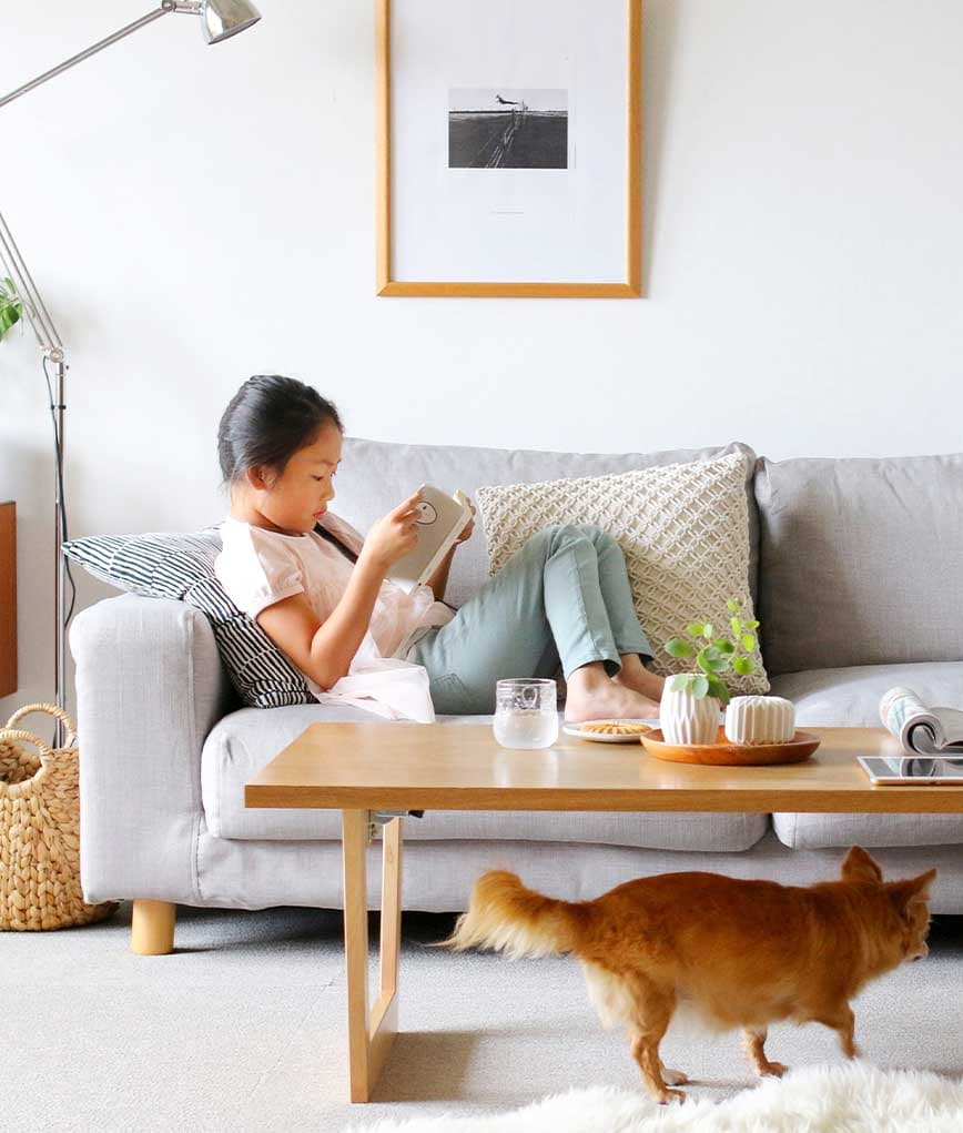 MUJI-wide-arm-sofa-kino-polyester-light-grey-slipcover-with-kids-and-pets-mobile