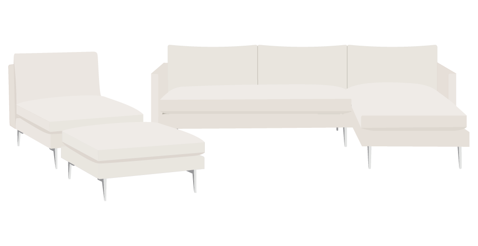 Room and Board Janus Sofa Slipcover