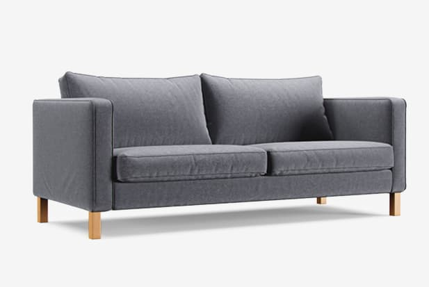Claw-proof velvet medium grey