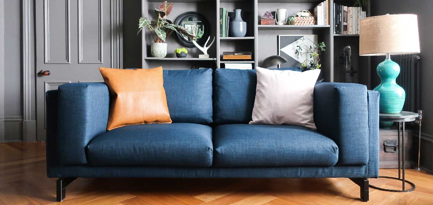 Sofa Slipcover by Comfort Works