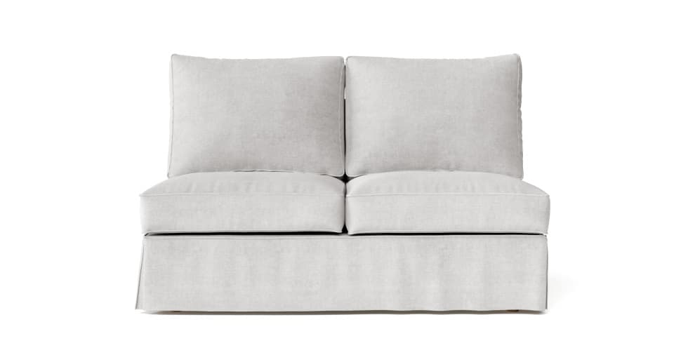 Armless Sofa Section Comfort Works