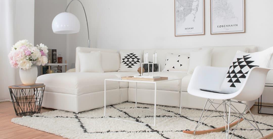 OTTO Sofabezug in weißer Baumwolle
